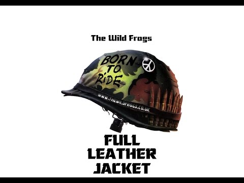 """The Wild Frogs """"Full Leather Jacket"""""""