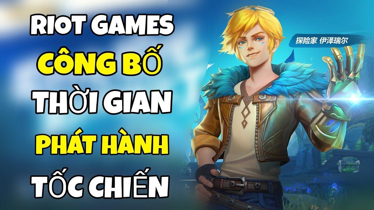LOL MOBILE - RIOT GAMES CÔNG BỐ THỜI GIAN PHÁT HÀNH LMHT TỐC CHIẾN (ANDROID/IOS)
