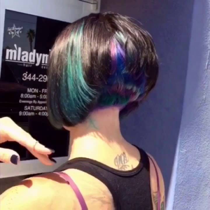 Peacock Hair Color YouTube - Peacock hairstyle color