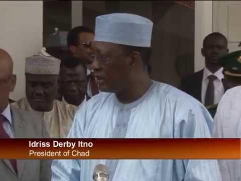 Yesterday Buhari Welcomes Chad President Idris Deby