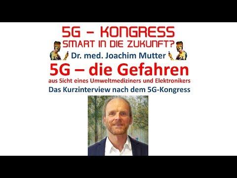 Dr. Joachim Mutter - 5G - Wir werden alle verstrahlt - Die Gefahren aus Sicht eines Mediziners