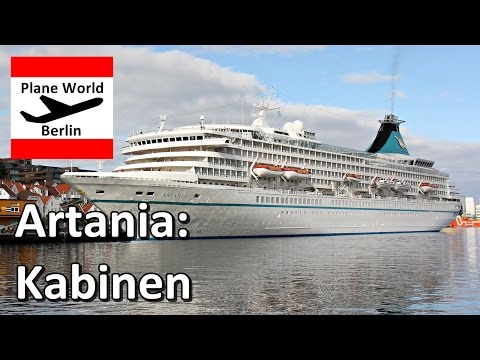 MS Artania *Phoenix Reisen Bonn*: Kabinen Beispiele 2016