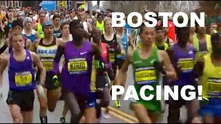 HOW TO RUN THE BOSTON MARATHON | SAGE RUNNING RACE STRATEGY