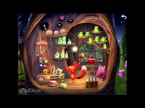 [gameplay] Little Fox Music Box, livro musical no iPad para divertir a criançada!