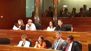 Votación en la que Podemos queda fuera de la Mesa del parlamentario asturiano