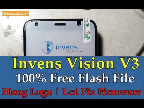 Invens V3 Flash File Free | Hang Logo | Lcd Fix Firmware