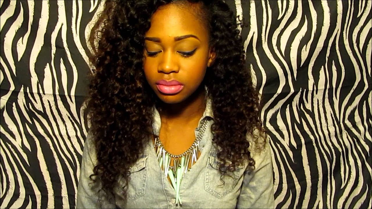 Big Curly Hair! Golden Wefts Peruvian Deep Wave Review