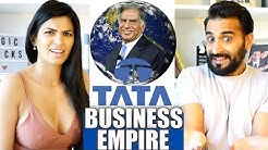 TATA'S BUSINESS EMPIRE (100 COUNTRIES) | Ratan Tata | How Big is Tata? | Reaction!!