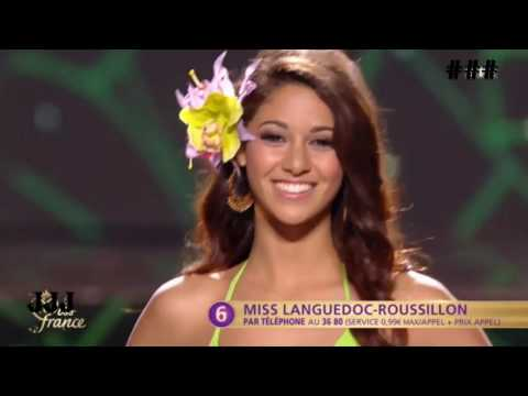 Miss France 2017 for Miss Universe - Top 12 Semifinalists - (Swimsuit Competition)