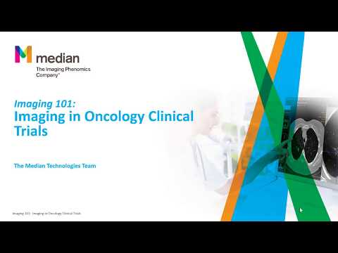 Imaging 101:   Imaging In Oncology Clinical Trials