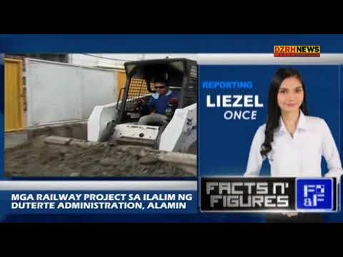 RAILWAY PROJECTS SA DUTERTE ADMINISTRATION