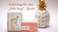 """Anleitung für eine """"Side Step"""" - Karte"""