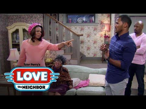 Danny's Secret Wedding Enrages Linda | Tyler Perry's Love Thy Neighbor | Oprah Winfrey Network