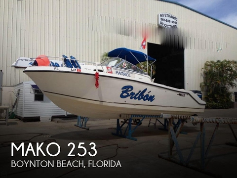 [UNAVAILABLE] Used 2002 Mako 253 in Hypoloxo, Florida