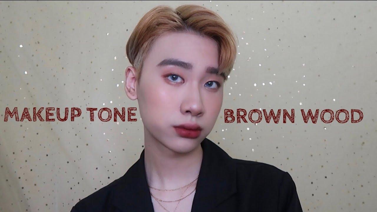 MAKEUP TONE NÂU GỖ SIÊU ĐẸP BAO XINH | MAKEUP TONE BROWN WOOD | Yeah I'm Lio