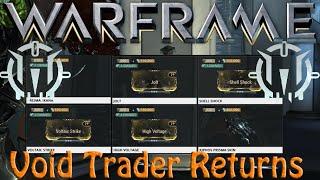Warframe   Void Traders Returned! 45th rotation