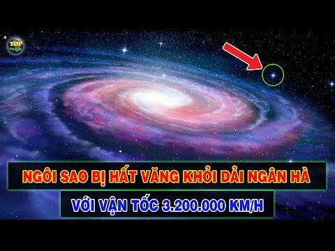 Phát hiện Ngôi sao đang bị văng ra khỏi Thiên hà sau vụ nổ Siêu tân tinh | Top thú vị |
