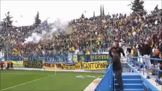 AEK ATHENS ORIGINAL 21 FANS IN FOOTBALL LEAGUE 2 (AWAY GAMES)