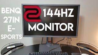 "THE PC Gaming Monitor you NEED - BenQ Zowie 1080p 27"" 144hz 1ms"