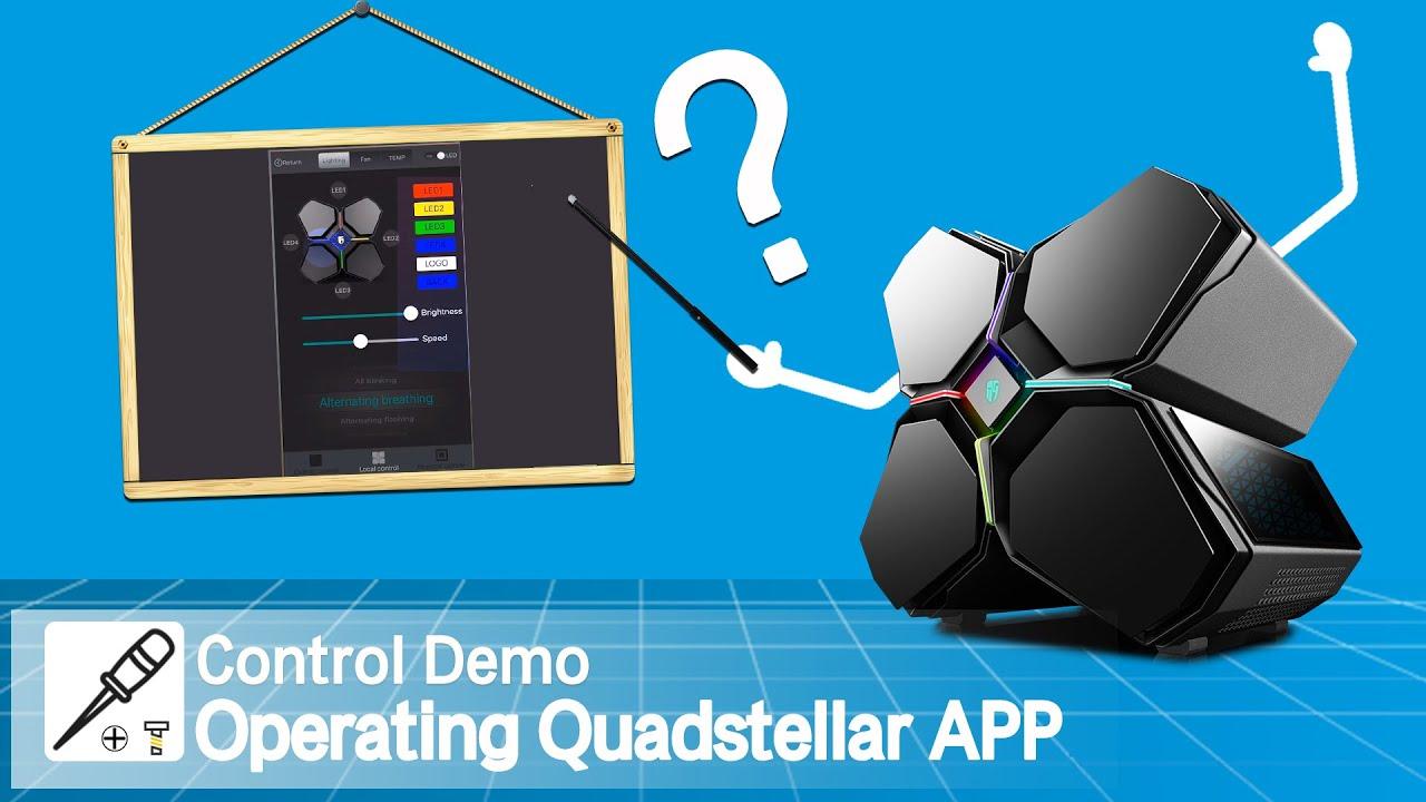 [Control Demo] Operating Quadstellar APP