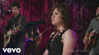 Kelly Clarkson - Sober (Sessions @ AOL 2007)