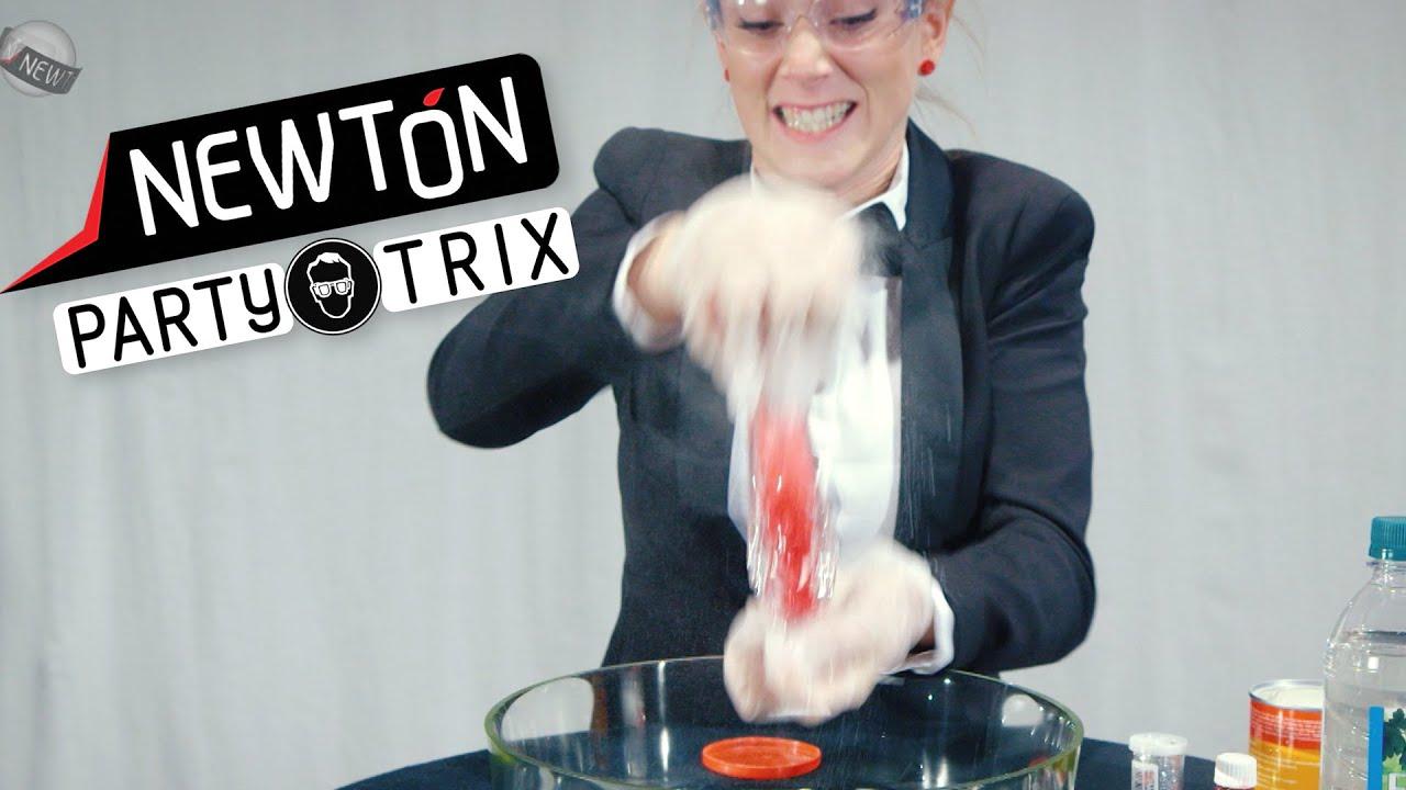 Vakker vulkan | Newton PartyTrix | NRK Super