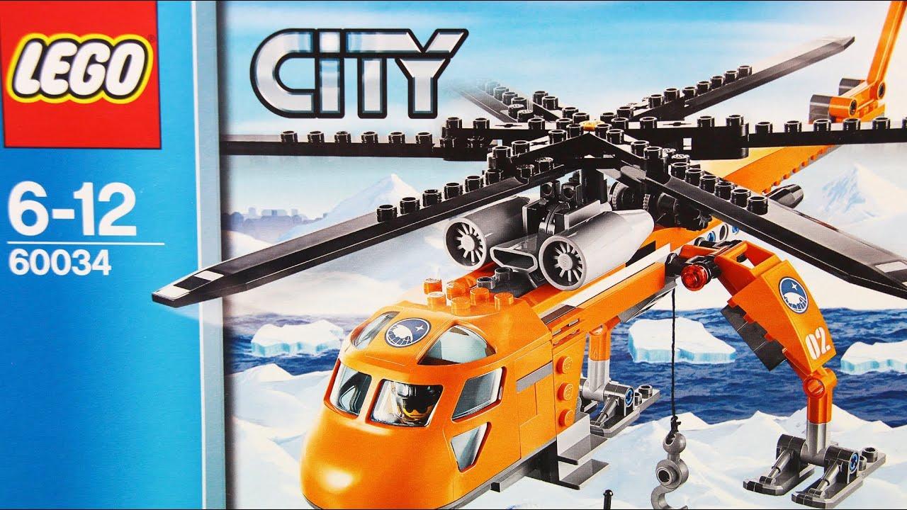 Arctic Helicrane Arktyczny Helikopter 60034 Lego City Www