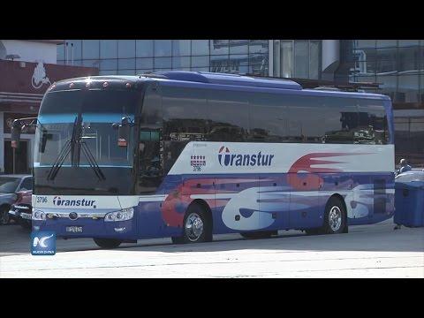 Autobuses chinos Yutong, esenciales en desarrollo del transporte en Cuba