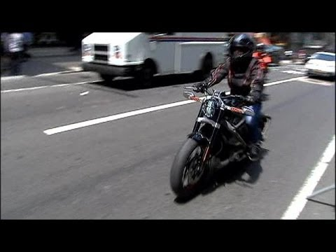 Harley-Davidson electric motorcycle - Project LiveWire