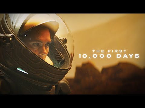 THE FIRST 10,000 DAYS ON MARS (Timelapse) - Venture City