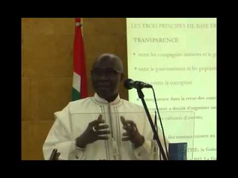 Minister Kerfalla's Presentation