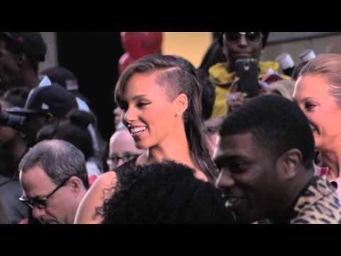Alicia Keys at Movie Premier