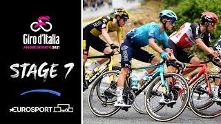 Giro d'Italia 2021 - Stage 7 Highlights | Cycling | Eurosport