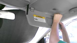 How To Replace Your Sonata's Sun Visor