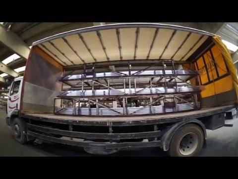 Πως παράγονται τα προφίλ αλουμινίου Alumil - Production facilities
