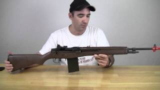 Airsoft Review WE M14 GBB Rifle - Take 2!