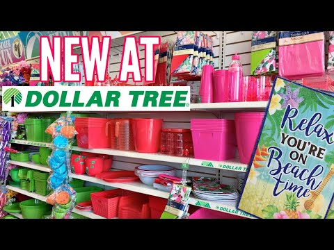 DOLLAR TREE SHOP WITH ME // NEW AT DOLLAR TREE // SUMMER 2019