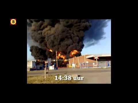 Brand bij Chemie-Pack Moerdijk: de meldingen bij meldkamer brandweer