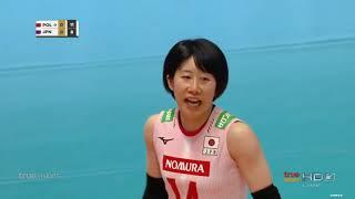 ญี่ปุ่น vs โปเเลนด์  18-05-62 รอบชิงชนะเลิศ  Volleyball Montreux Masters 2019