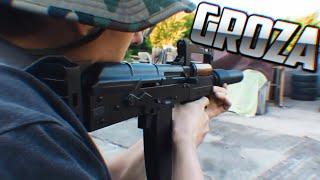 ARMAS DE FREE FIRE EN LA VIDA REAL | GROZA, SKS, AWM, SCAR, M4A1 etc... | Dezzed. thumbnail