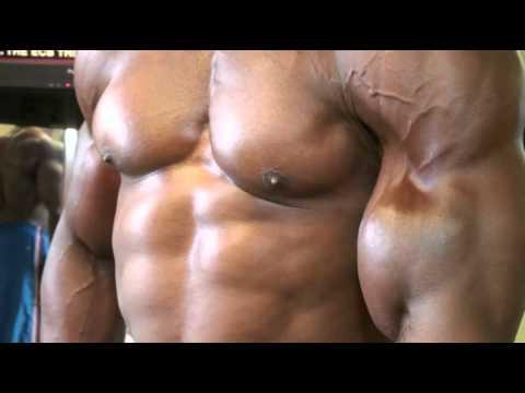 Huge biceps in Bodybuilding DVD: Guns of Summer 2012-1