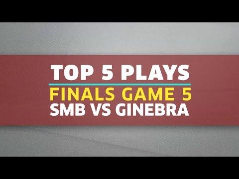 Top 5 Plays | Finals Game 5: SMB vs. Ginebra | PBA Philippine Cup 2016 - 2017