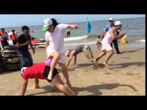 Trò chơi tập thể Cực vui -Cực Bựa -khi Đi Du Lịch Biển