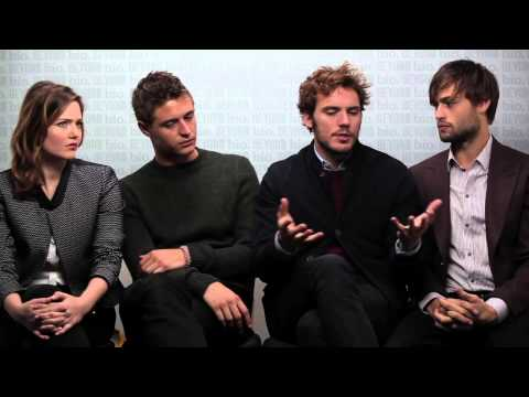 Holliday Grainger, Max Irons, Sam Claflin, Douglas Booth talk THE RIOT CLUB