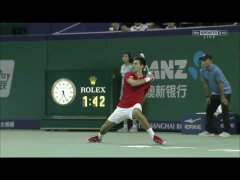 Djokovic vs Del Potro Shanghai 2013 Final 1080p