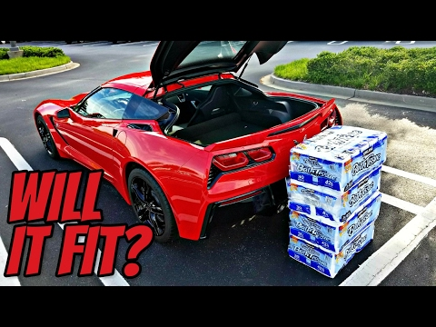 Will it Fit? | Testing The Trunk Capacity of My Corvette!