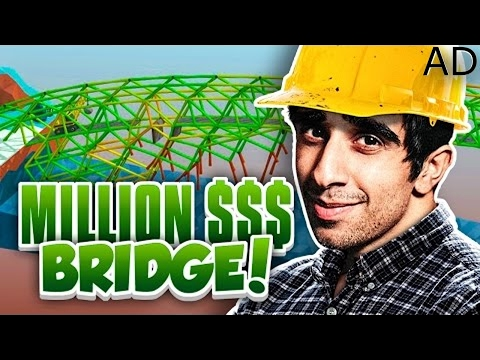 MILLION DOLLAR BRIDGE! - POLY BRIDGE