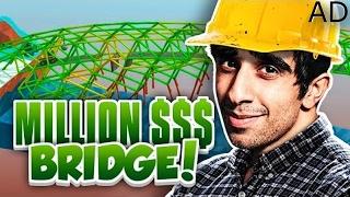 MILLION DOLLAR BRIDGE! - POLY BRIDGE