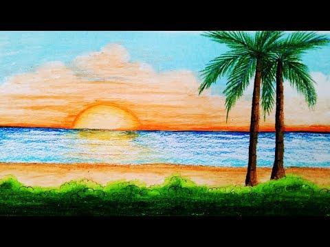 how-to-draw-sea-beach-scenery.step-by-step-(easy-draw)