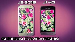 Samsung J1 4g Vs J2 2016 Screen Comparison | Ultimate Comparison